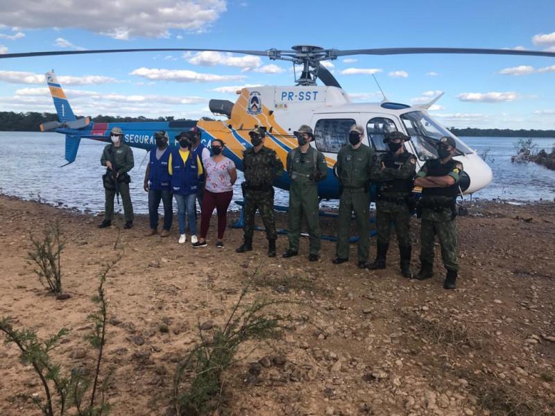 Blitz na Praia da Amizade Vigilância em Saúde juntamente com a Segurança Pública do Estado do Tocantins