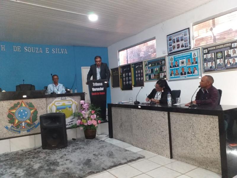 Prefeito Caio Augusto dá posse ao Conselho Municipal de Educação - CME
