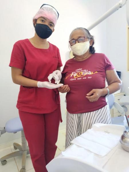 Moldagem de Próteses Dentárias para população de Ipueiras, Distrito São Francisco e Região.